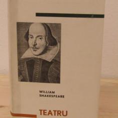 WILLIAM SHAKESPEARE -TEATRU( PE FOITA DE TIGARETA) - Carte Teatru