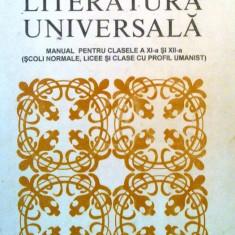 Literatura universala - Manual pentru clasele a Xi-a si XII-a (Scoli normale, licee si clase cu profil umanist) - Culegere Matematica