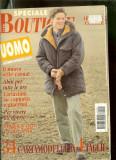 Revista moda BOUTIQUE - UOMO, toamna iarna 1996-1997, cu insert
