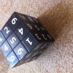 Cub Sudoku cube joc matematic logica gen rubik s cub hobby - Jocuri Logica si inteligenta, peste 14 ani, Unisex
