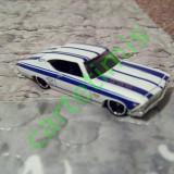 Hot Wheels 1:64 '69 Chevelle SS 396 TM GM - Macheta auto
