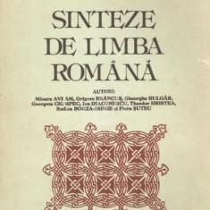 Sinteze de limba romana (Editia a III-a) - DEX