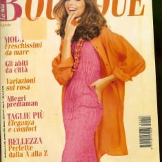 Revista moda BOUTIQUE - august 1995, completa, cu insert