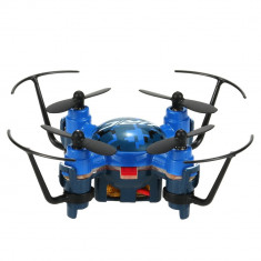 Mini Drona, sistem giroscopic 6 axe, 4 canale, flip 3D, lumina de noapte, JJRC H30