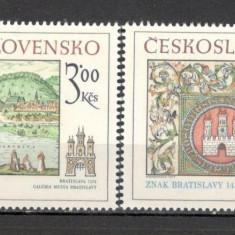 Cehoslovacia.1977 Motive istorice din Bratislava CC.422 - Timbre straine, Nestampilat