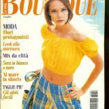 Revista moda BOUTIQUE - iulie 1996, completa, cu insert