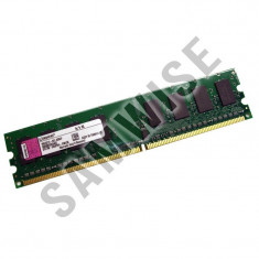 Memorie 1GB DDR2 800MHz PC2-6400 KINGSTON calculator desktop GARANTE 2 ANI !!! - Memorie RAM