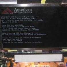 Placa de baza laptop asus Eeepc 1000 HD, INTEL ATOM, DDR2, FUNCTIONALA, Contine procesor