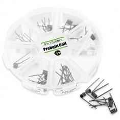 Rezistente Pre-Spiralate Kanthal Set 8-in-1 - 48buc - Rezistenta tigara electronica