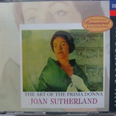 Joan Sutherland - the art of the primadonna - Muzica Opera decca classics, CD