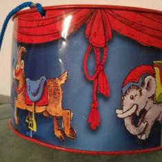 Tobita/toba de tabla, jucarie pentru copii, 20 cm diametru, marca Bolz, Germania - Jocuri arta si creatie