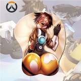 Mousepad 3D OverWatch (10 modele) ERGONOMIC silicon OW mouse pad mei diva +CADOU
