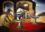 "Salvador Dali ""Slave Market"" 1940 Replica Pictura Tablou 30x21cm High Rez"