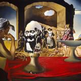 """Salvador Dali """"Slave Market"""" 1940 Replica Pictura Tablou 30x21cm High Rez - Reproducere"""