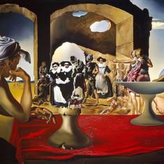 """Salvador Dali """"Slave Market"""" 1940 Replica Pictura Tablou 30x21cm High Rez"""