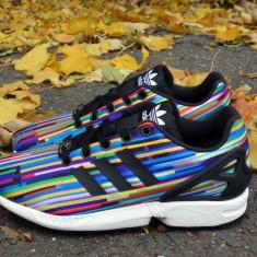 Adidasi 100% originali ADIDAS ZX FLUX- adidasi copii, Marime: 35, 35.5, Culoare: Din imagine, Unisex