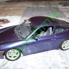 Bburago 1:18 Porsche 996 Carrera 4 - Nr de inmatriculare mai rar - Macheta auto
