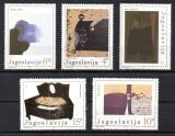 JUGOSLAVIA 1982, Arta, Pictura, serie neuzata, MNH