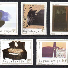 JUGOSLAVIA 1982, Arta, Pictura, serie neuzata, MNH, Iugoslavia, Nestampilat