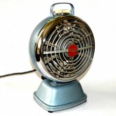Radiator electric vintage portabil, space era, perioada anilor 50' - 60'