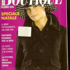 Revista moda BOUTIQUE - decembrie 2006, completa, cu insert