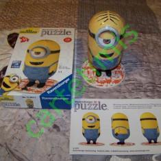 Ravensburger 3D Puzzle - Minions, Alte materiale, Unisex