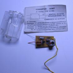 un convertor sunet radio tv vechi anii 80 nou de colectie