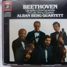 Beethoven - Late string quartets - Muzica Clasica emi records, CD
