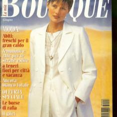 Revista moda BOUTIQUE - iunie 1995, completa, cu insert