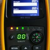 Satlink WS-6933 DVB-S2 - Sat Finder Satfinder lanterna, baterie, husa