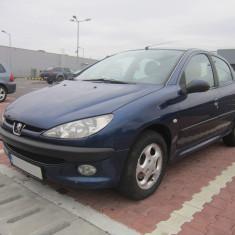 Peugeot 206 1.4 HDi 2003 - 69 CP albastru bleumarin, Motorina/Diesel, 1398 cmc, 210000 km