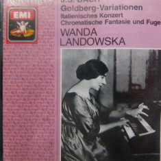 Bach - Landowska - Muzica Clasica emi records, CD