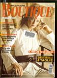 Revista moda BOUTIQUE - decembrie 2005, completa,  cu insert