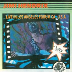 Jimi Hendrix – Live In Los Angeles (LP - Romania - VG) - Muzica Rock electrecord, VINIL