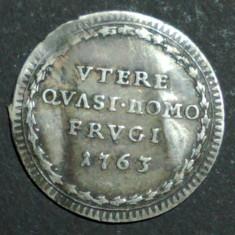 Vatican 1 grosso 1763, Europa