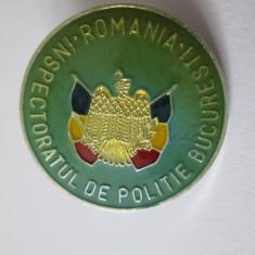 Insigna Inspectoratul de Politie Bucuresti anii 90