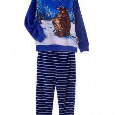 Pijama copii Polar Gruffalo, Marime: Masura unica, Culoare: Albastru