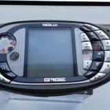 Nokia N-GAGE QD model mai rar fabricat in Finlanda de colectie - Telefon Nokia, Negru, 1GB, Neblocat, Fara procesor, Nu se aplica