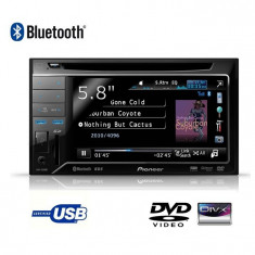 DVD-Auto Pioneer AVH-3200BT+amplificator MAC AUDIO MPX 2500 600 watts+casti AKG - DVD Player auto