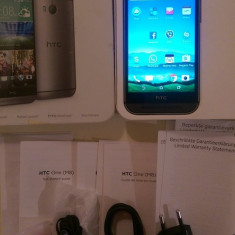 HTC One M8 Silver Argintiu Neverlocked - Telefon mobil HTC One M8, 16GB, Neblocat