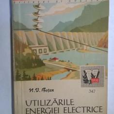 N. V. Botan - Utilizarile energiei electrice
