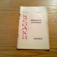KIGAKU * Zodiacul Japonez - Takeo Mori, Richard Smith - 1994, 63 p. - Carte paranormal