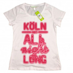 Tricou Adidas Neo - Tricou dama Adidas, Marime: L, Culoare: Din imagine, Maneca scurta, Casual, Bumbac