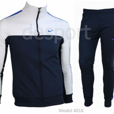 Trening barbati Nike - Model Nou - Silon - Bluza si pantalni conici Pret special, Marime: S, M, XXL, Culoare: Din imagine