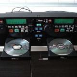 Cd profesional GEMINI CD - 240, dublu cu bloc optic KSS 213C ORIGINAL. - CD Player DJ
