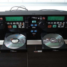 Cd profesional GEMINI CD - 240, dublu cu bloc optic KSS 213C ORIGINAL. - CD Player DJ