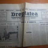 Ziarul dreptatea 13 decembrie 1990--art. despre revolutie si despre iuliu maniu
