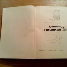 UNSER HAUSHALT - Verlag fur die Frau, Leipzig, 1964, 767 p.; lb. germana