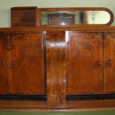 Servanta Stil Biedermeier din lemn masiv; Bufet Vintage; Comoda, Comode si bufete, 1900 - 1949