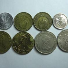 Ungaria lot (1) - 8 monede moderne diferite 1975-2003